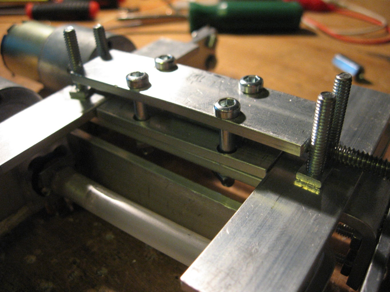 Mounting the Spine, Cont.