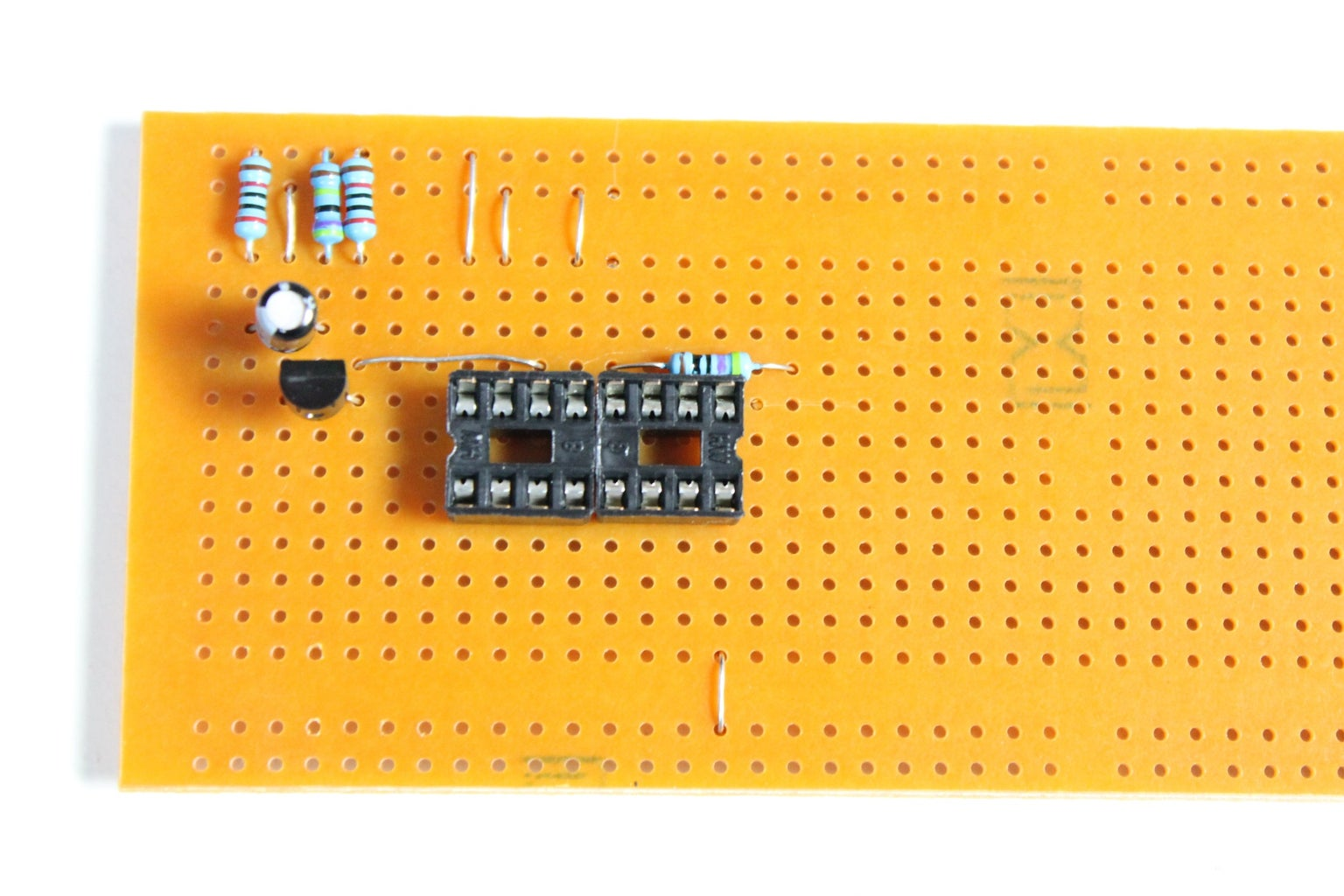 Adding a Cap and More Resistors