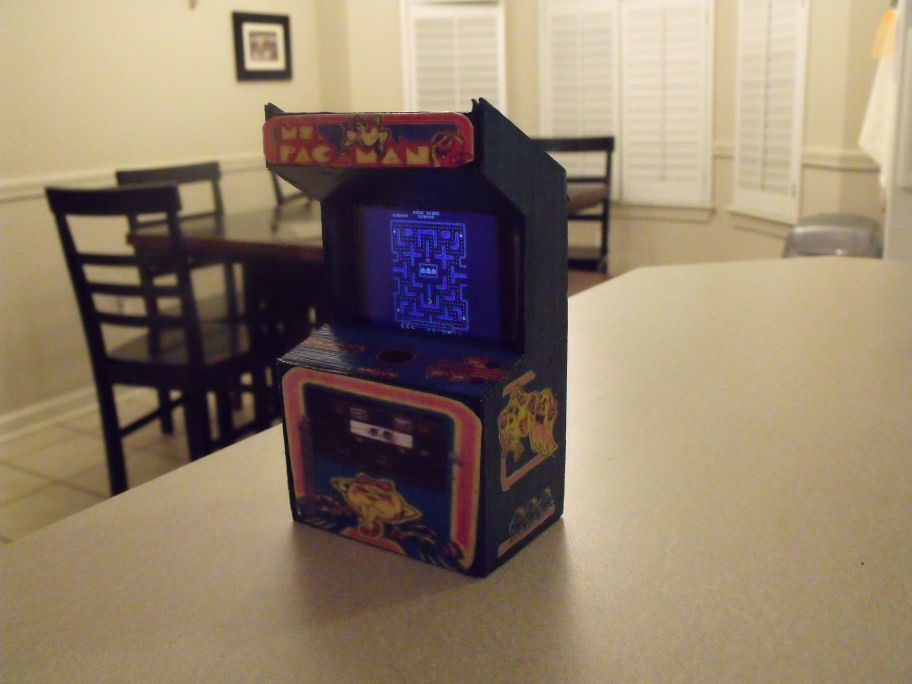 Ms. Pacman Arcade - iPod charger