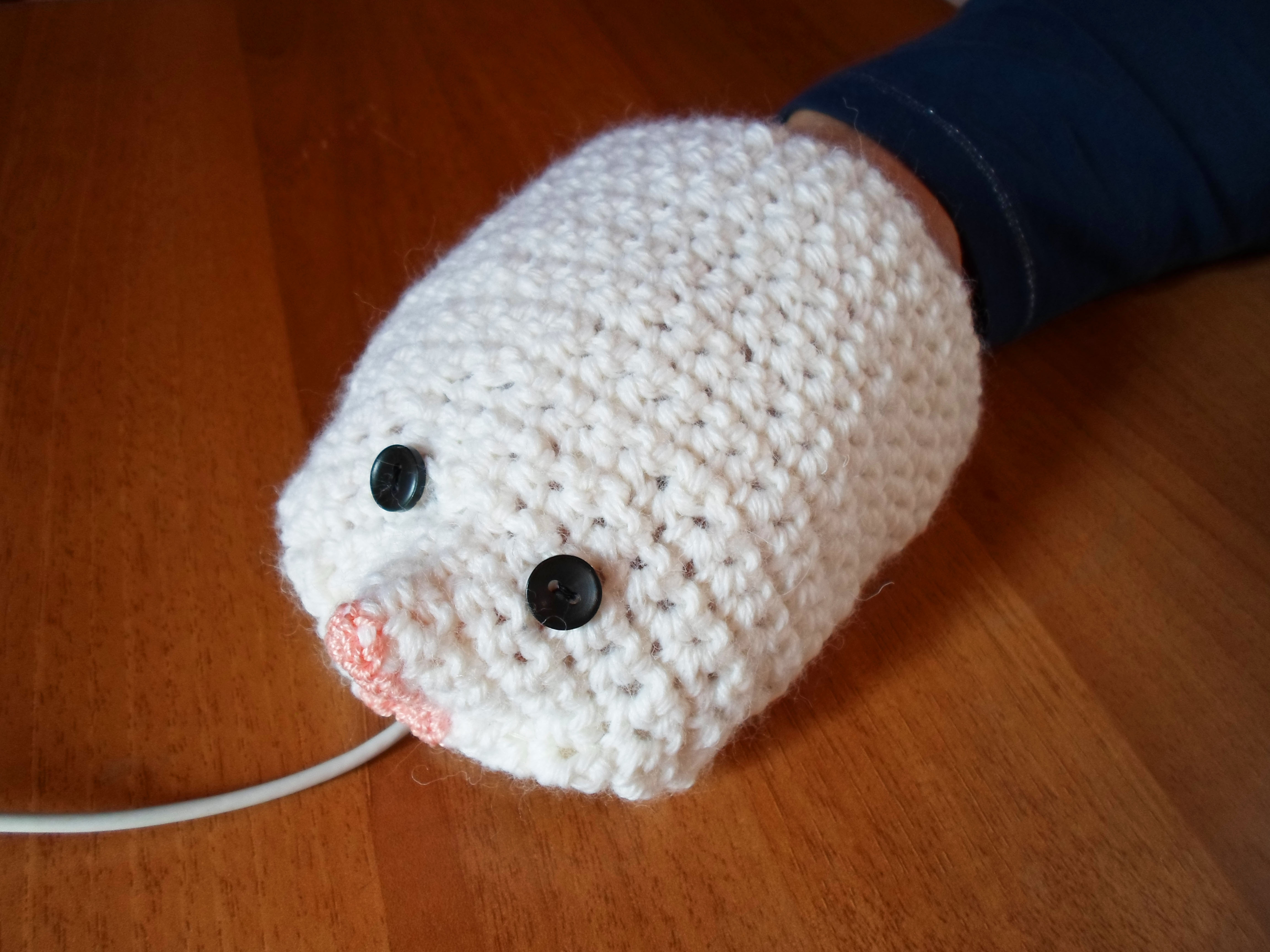 Mouse Mitten - a mitten for your mouse