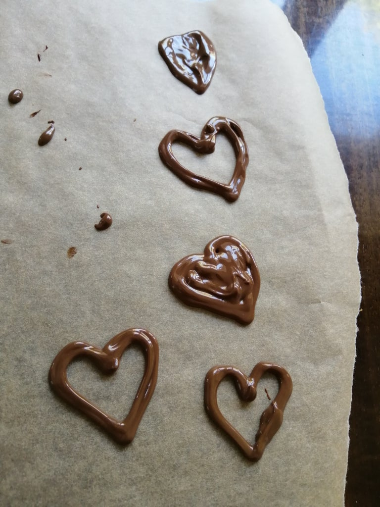 Draw Chocolate Decors