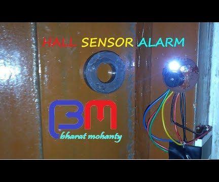 Hall Sensor Alarm
