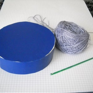 Crochet a Round Box