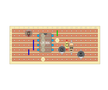 LET'S ADD THE AMPLIFIER IC