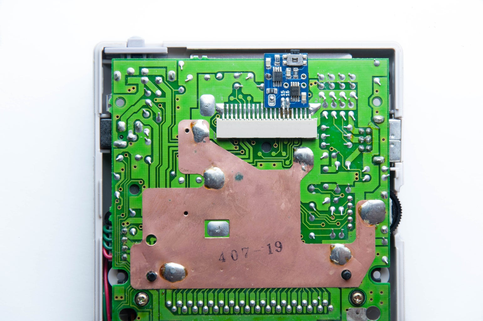 Position and Solder the Bi-vert Chip to the DMG Mainboard (FFC Side)