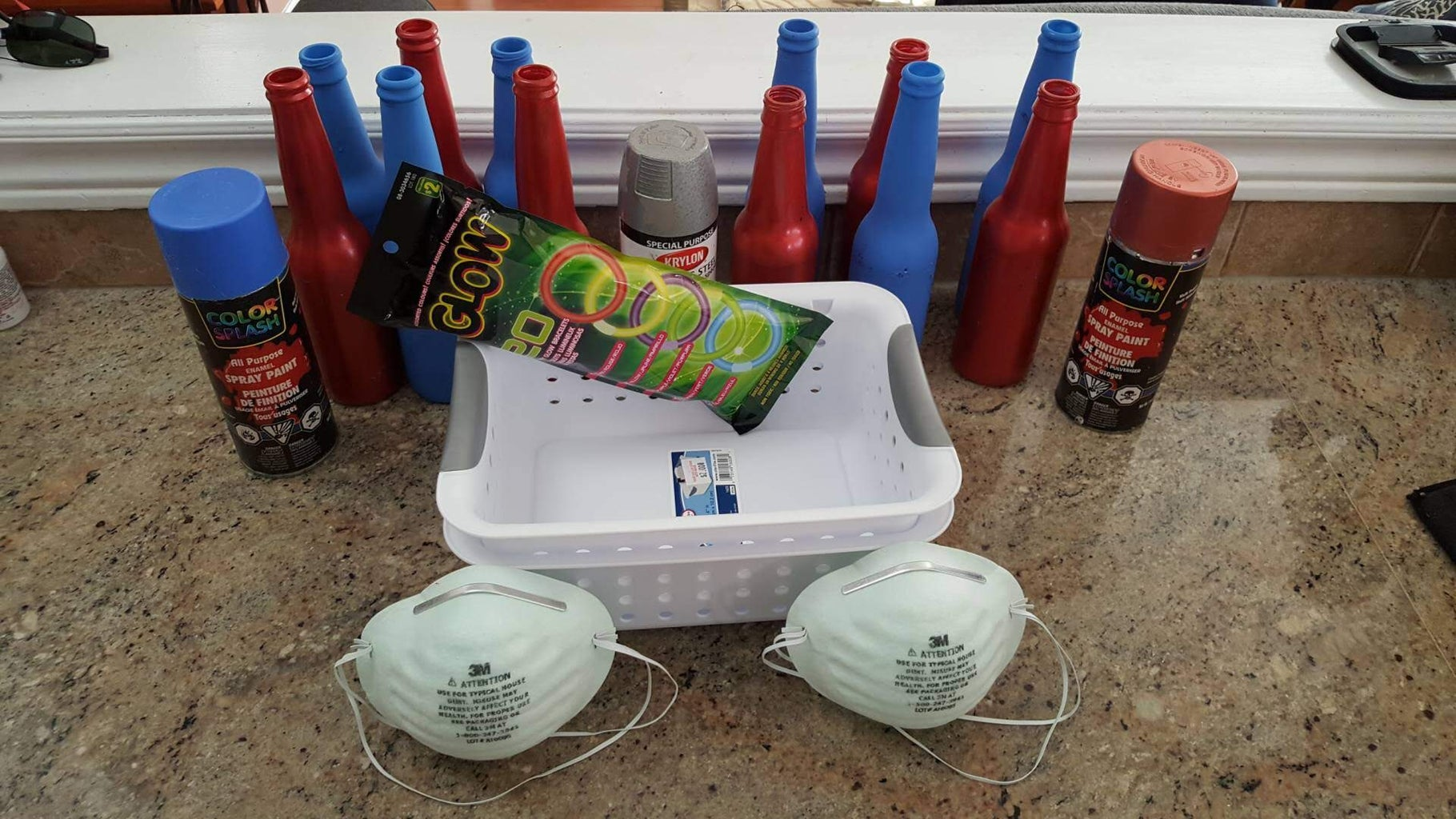 How to Build Glow in the Dark Ring Toss