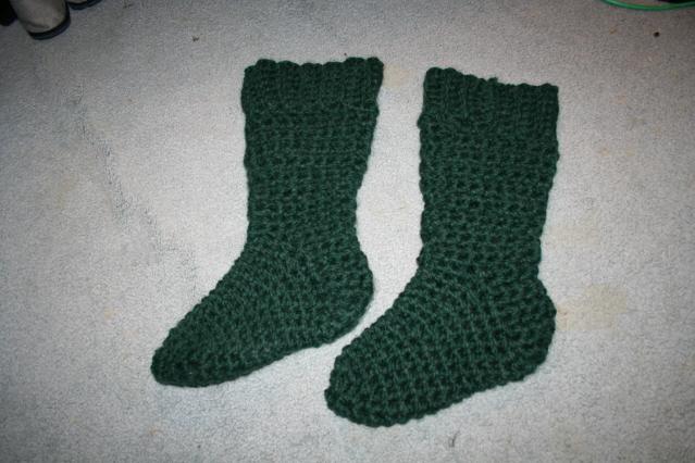 Cottage Slipper Socks