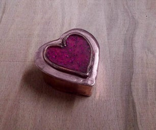 Making a Cold Enameled Jewellery Box