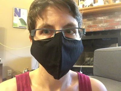 Custom-fit a Target Face Mask (no Sewing)