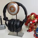 Captain America Shield - Headphone Holder