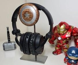 Captain America Shield - Headphone Holder