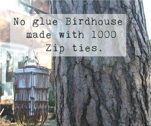 Laser Cut Zip Tie Bird House (No Glue!)