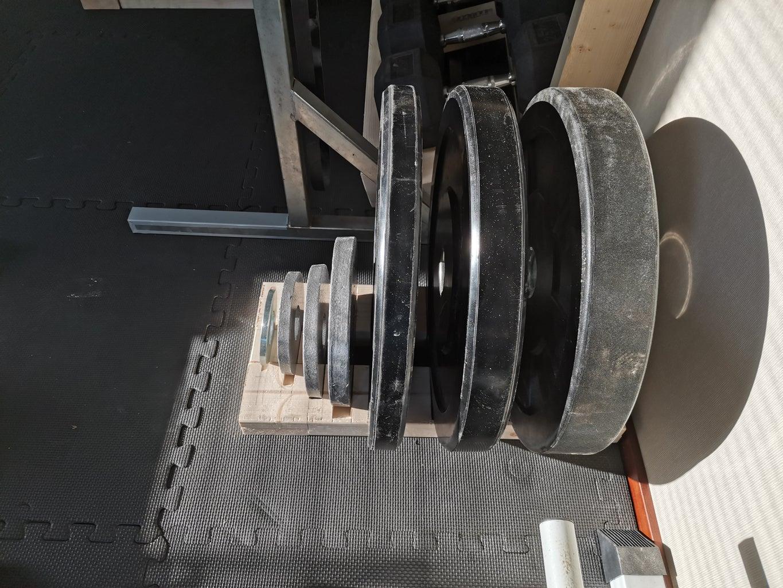 Bumber Plate Rack
