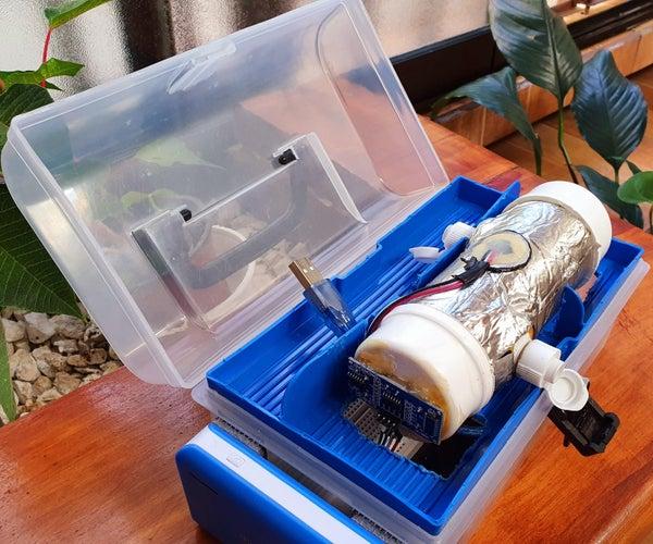 Measuring Refrigerant Gases Sound Speed Using Arduino and App Inventor 2
