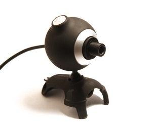 Simple Super-Macro/Microscope Webcam Conversion
