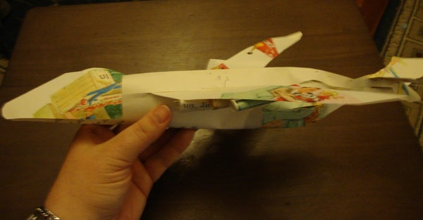 Upcycle Used Paper Into a Papercraft Airplane Toy