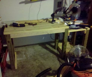 Easy Assemble/disassemble Wooden Work Bench