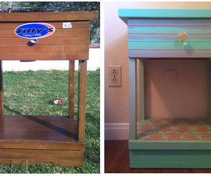 Before & After: Bed Stand Project