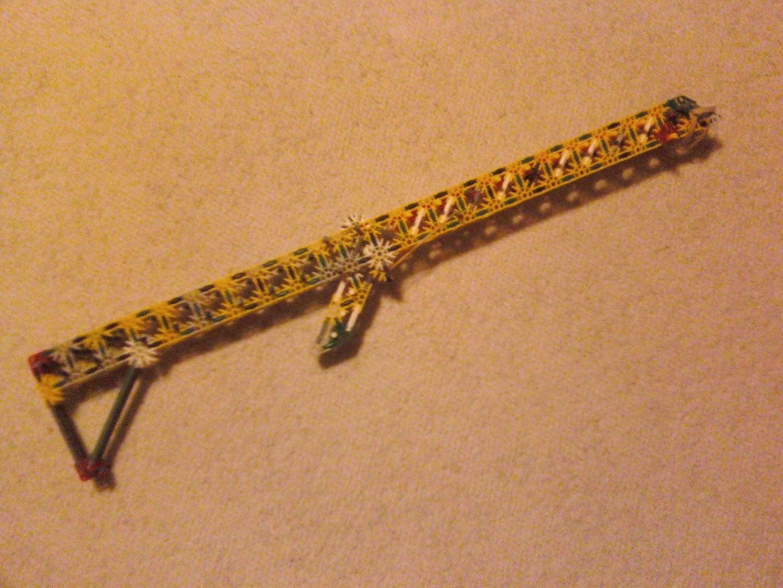 Triple Barrel Sipriani Rifle