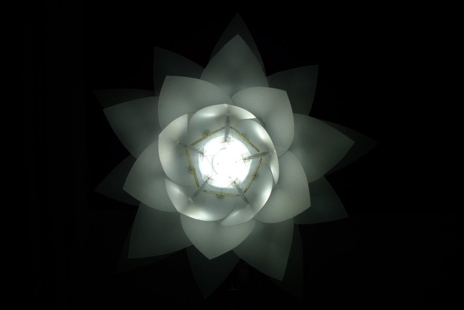 The DIY Artichoke Lamp