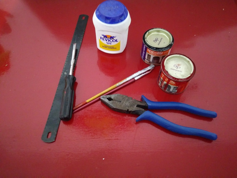 Tools Materials Used