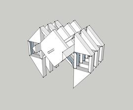 Papercraft Theo Jansen步行机-造纸步行机