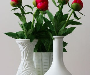 DIY Flower Vases Decoration Idea