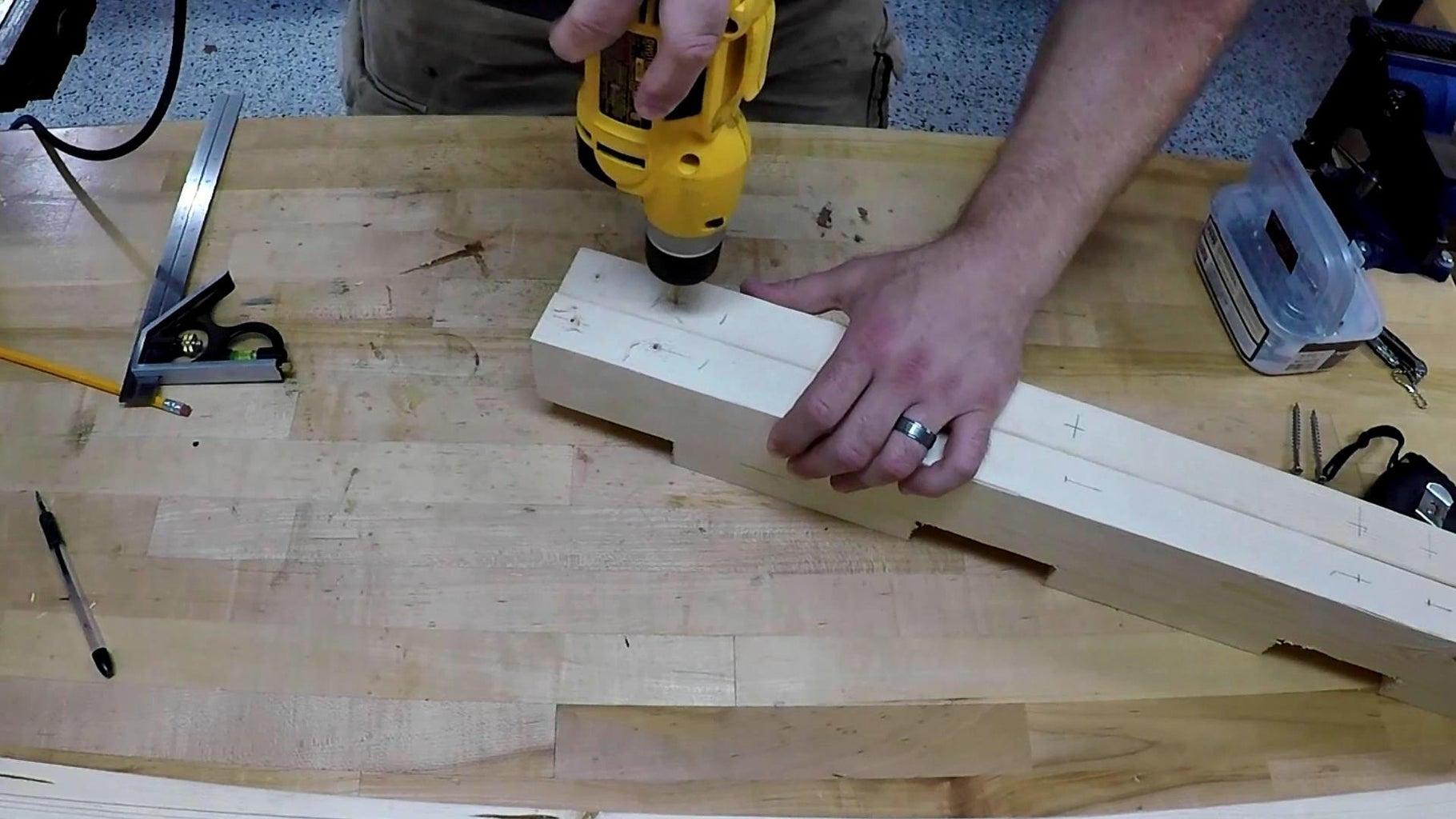Assemble Headboard and Footboard