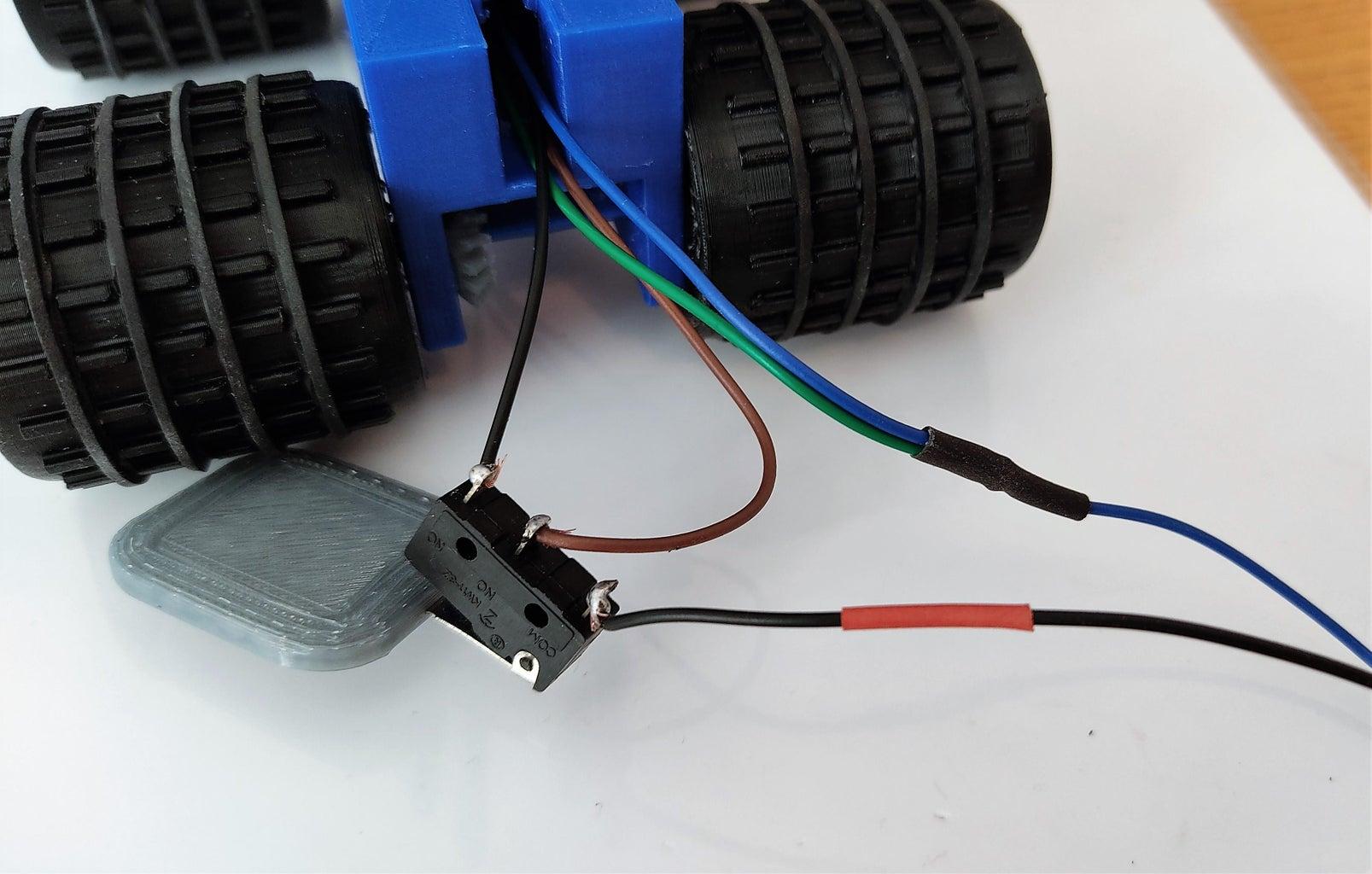 Installing the Bumper Sensor