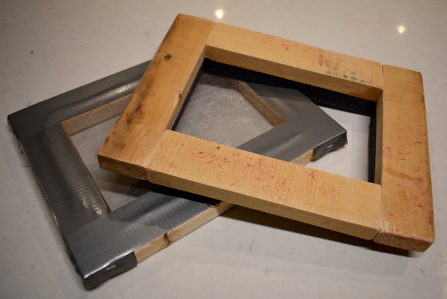 Paper Mould and Deckle