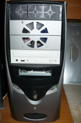 "DIY CD/DVD 5.25"" Bay PC computer cooler"