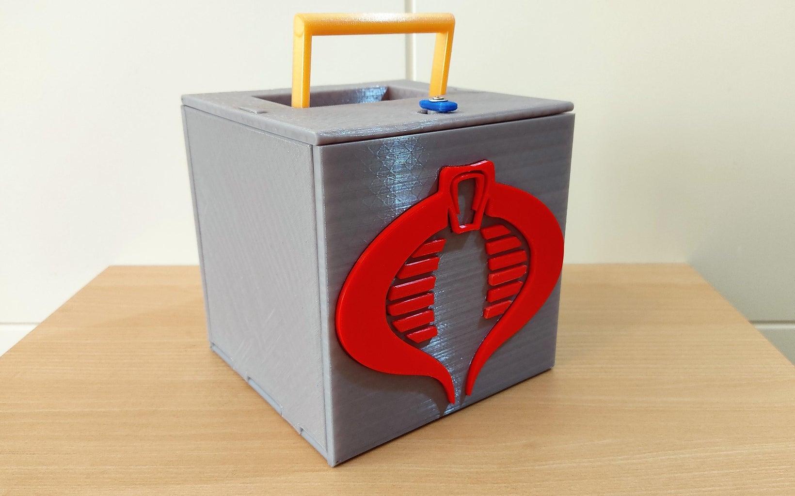 面向学校的产品设计:盒装便携式玩具(具有快速部署行动!)