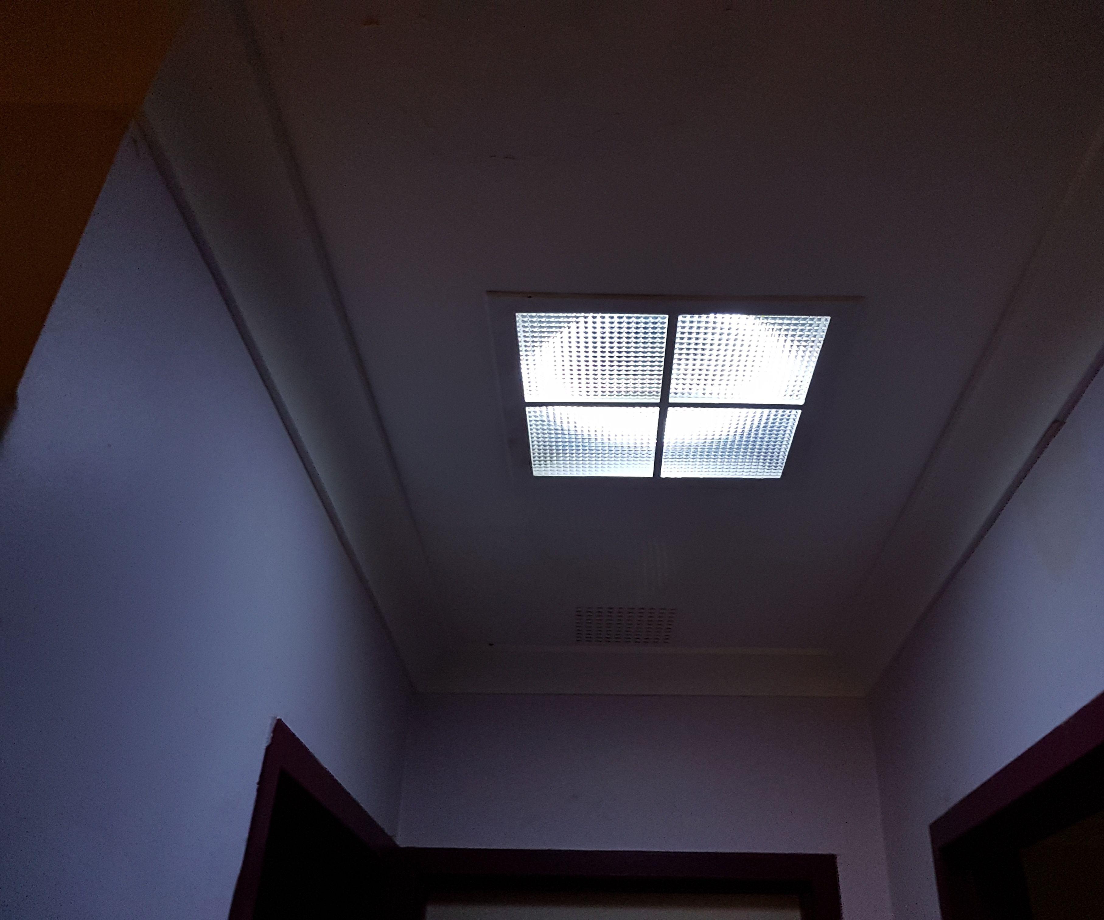 LED Skylight That Is Solar Powered - Retrofit