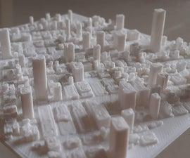 3D Printed Any Earth Terrain Map