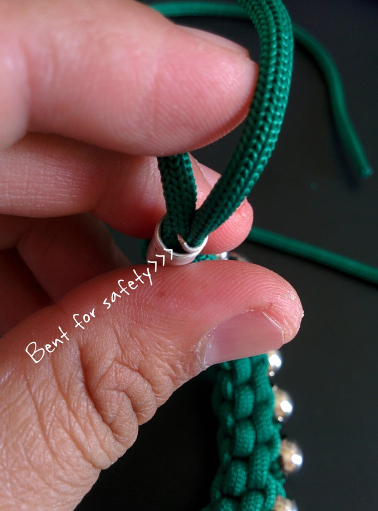 Adding End Caps to Necklace