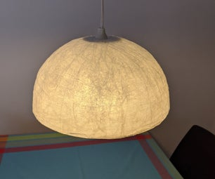 Super Easy Clear Adhesive Lamp Shade
