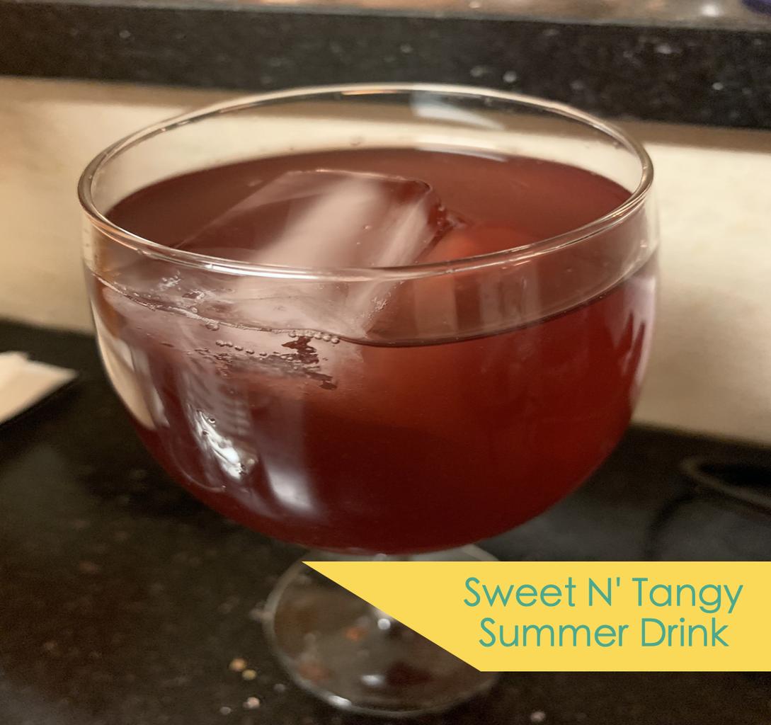 Sweet N' Tangy Summer Drink
