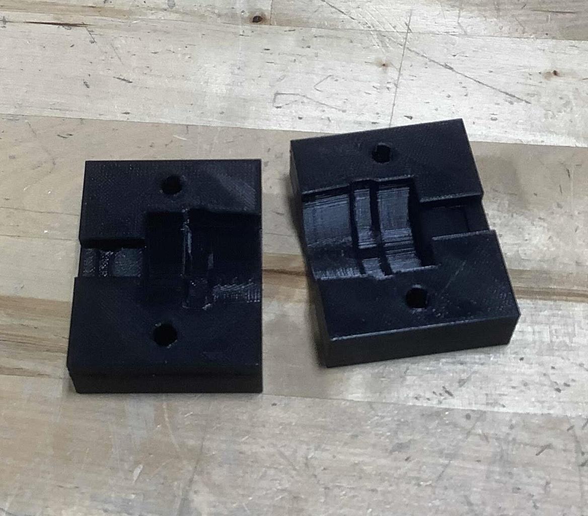 Assemble Laser/Lens Mount
