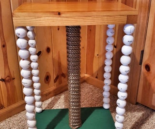 Golf Ball Table