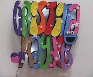 Graffiti Night Light