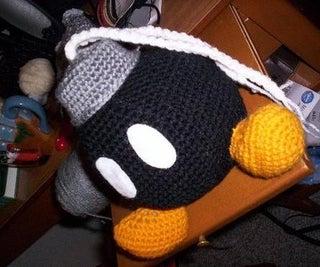 Crochet Bob-omb Bag