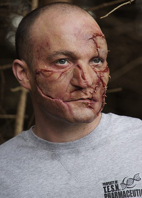 Halloween Prosthetics; Walking Dead Zombie / Leatherface / Frankenstein Makeup!