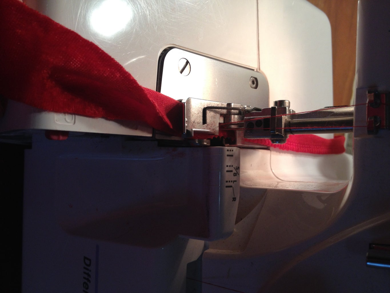 Making the Ties, Loops, and Belt