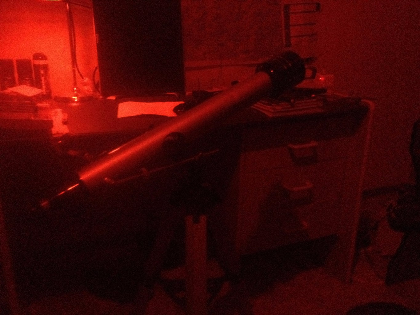 Make a Red Head-torch for Astronomy - Under $10