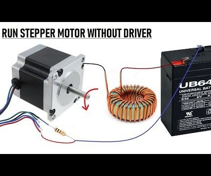 Wow !! Run Stepper Motor Without a Driver    New Idea 2018