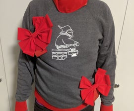 How to Screen Print an Ugly Christmas Sweater for the Artistically Challenged