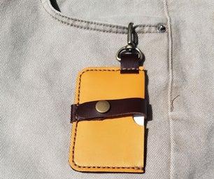 Leather Minimalist (Quarantine) Card Holder