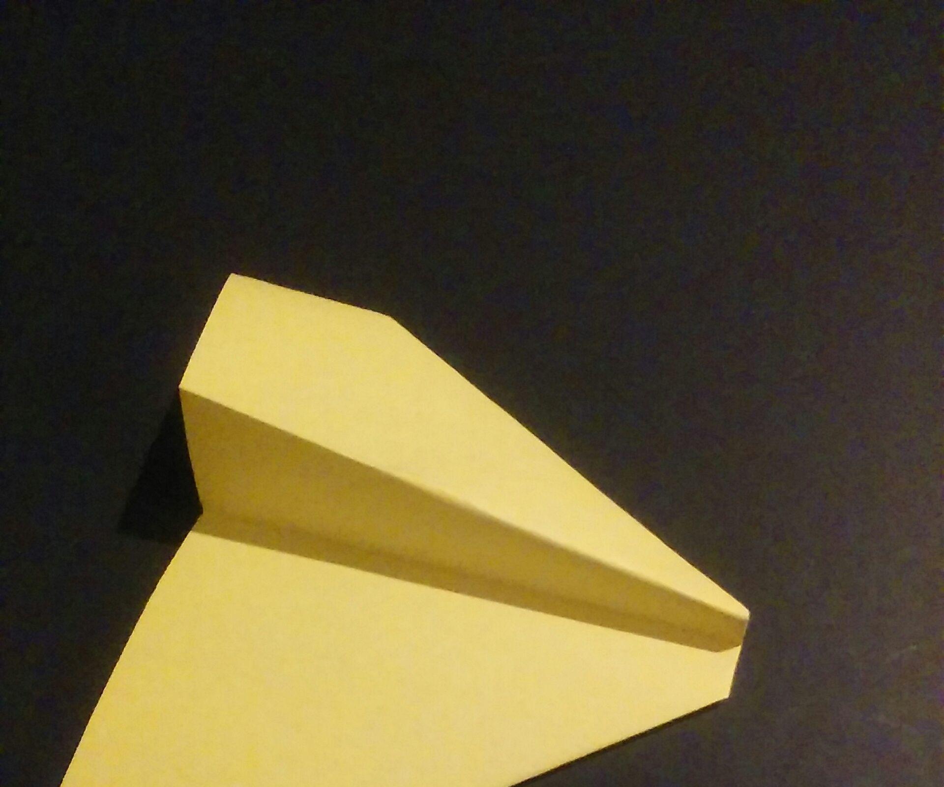 Paper Airplane: Glider Model 2
