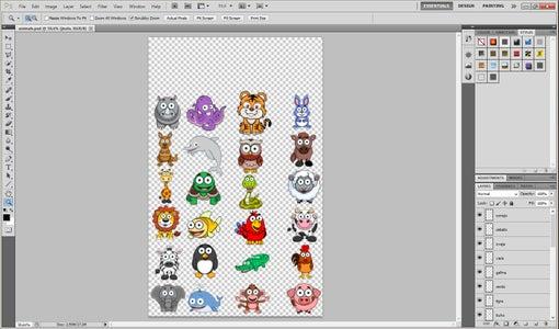 Editing the Animals