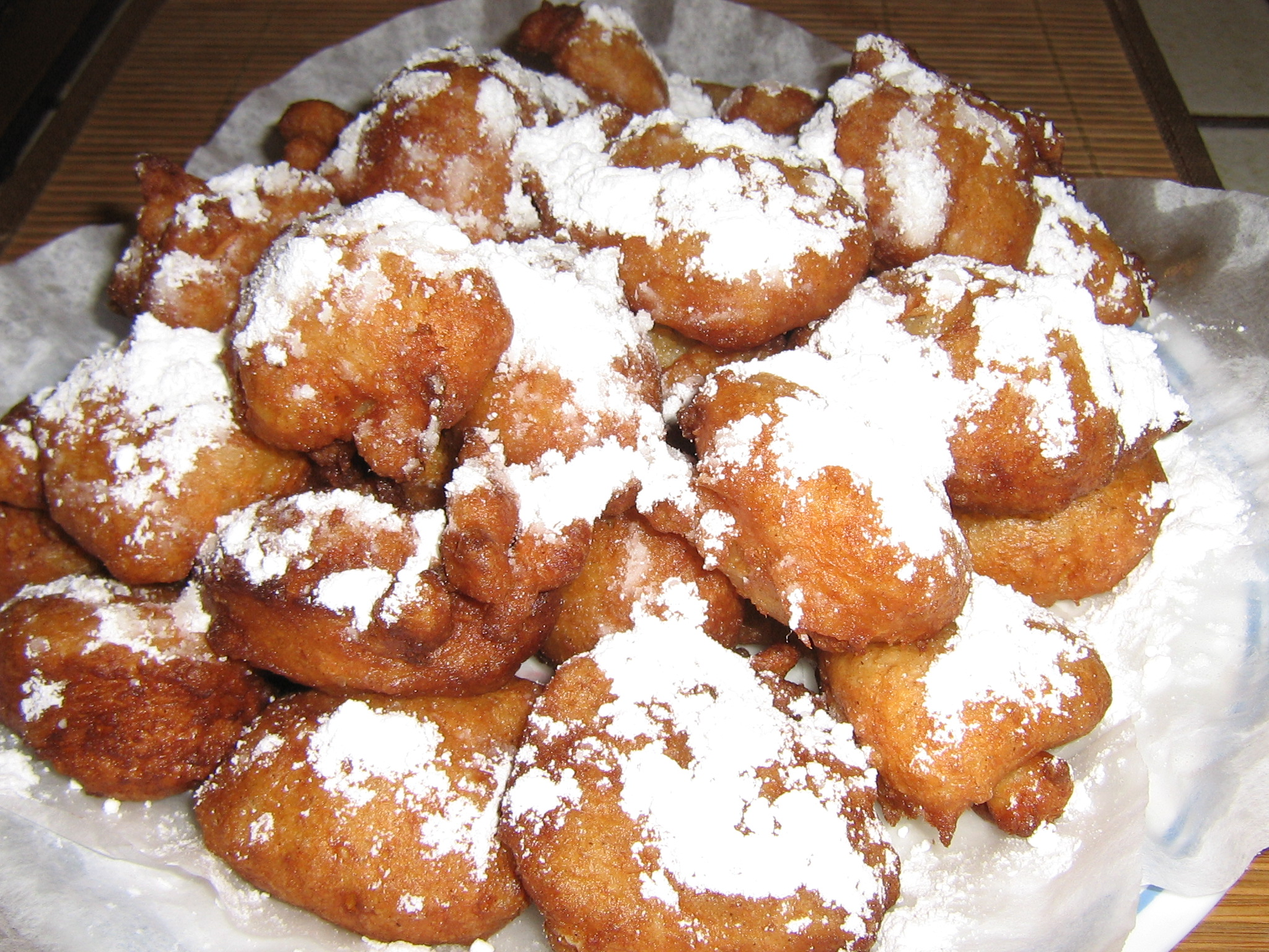 New Orleans Rice Calas/ Beginets-  Dessert Treats Anytime